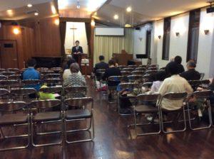 受難日礼拝プログラム