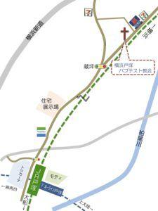 教会地図のコピー